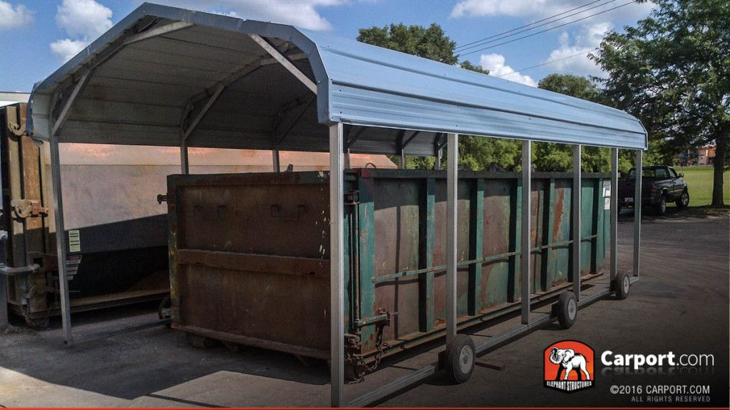 Single Wide Metal Structure 12' Wide x 24' Long x 7' High