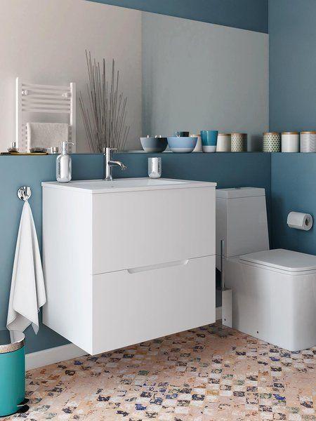 Ideas y muebles para renovar el baño Muebles de baño, Baño y El motivo - baos con mosaicos