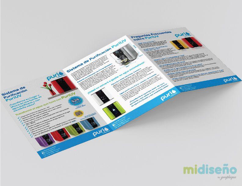 Diseño Gráfico de Brochure Trifoliar Promocional - Mi Diseño Web & Gráfico Costa Rica