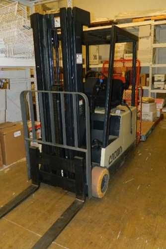 $185000 For Sale Used CROWN 35SCTT forklift with charger in Tulsa