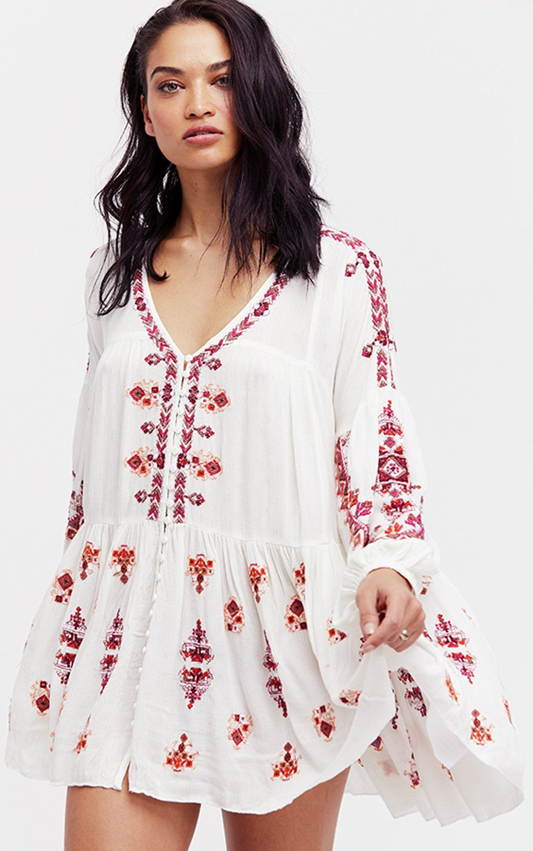 c2522447a72 Arianna Tunic - Ivory by Free People in 2019 | Gotta have it | Tops ...