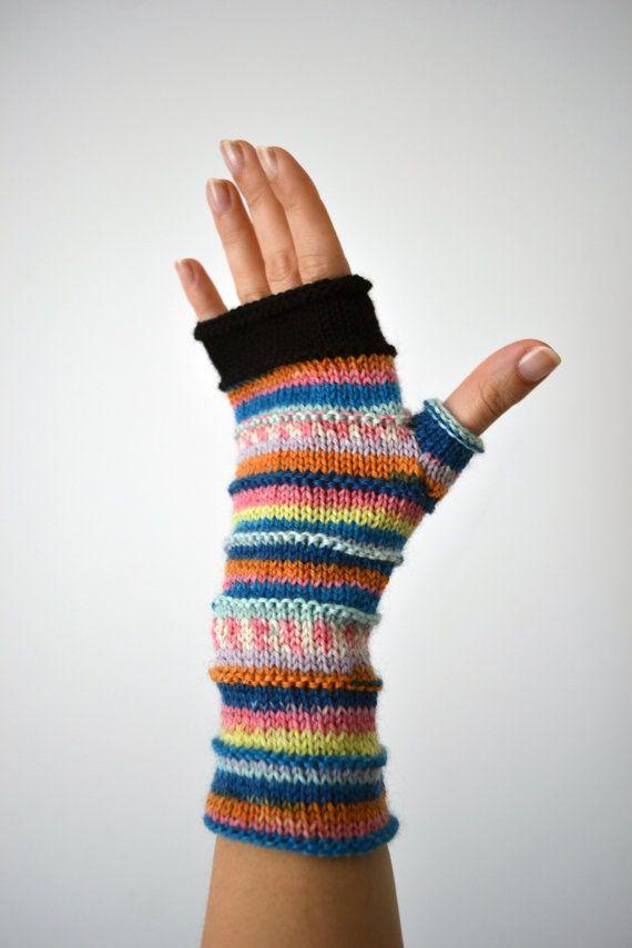 Soft Fingerless Gloves - Christmas Gift - Winter Accessories - Women ...