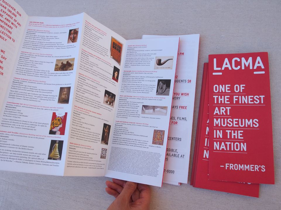 lacma brochure - Google 검색 Layout Pinterest Layouts - pamphlet layout