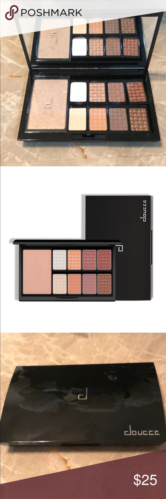 Doucce Makeup   Doucce Freematic Pro Palette Nude Eye