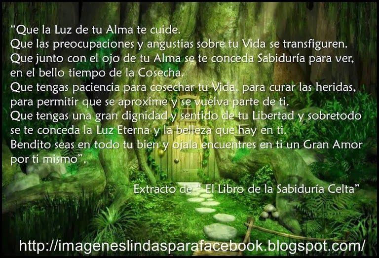 Resultado De Imagen De Oraciones Celtas Antiguas Bendicion
