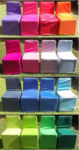 Bulk Pack Consists Of 50 X Kids Stretch Chair Covers In The