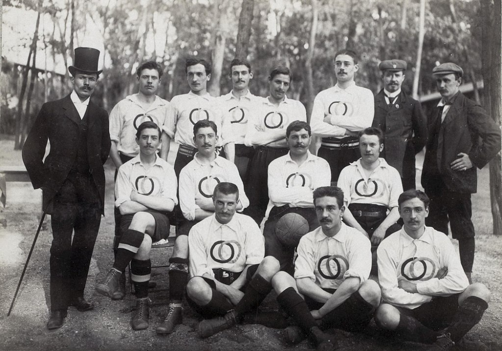 France football 1900 Category:Group photographs of France