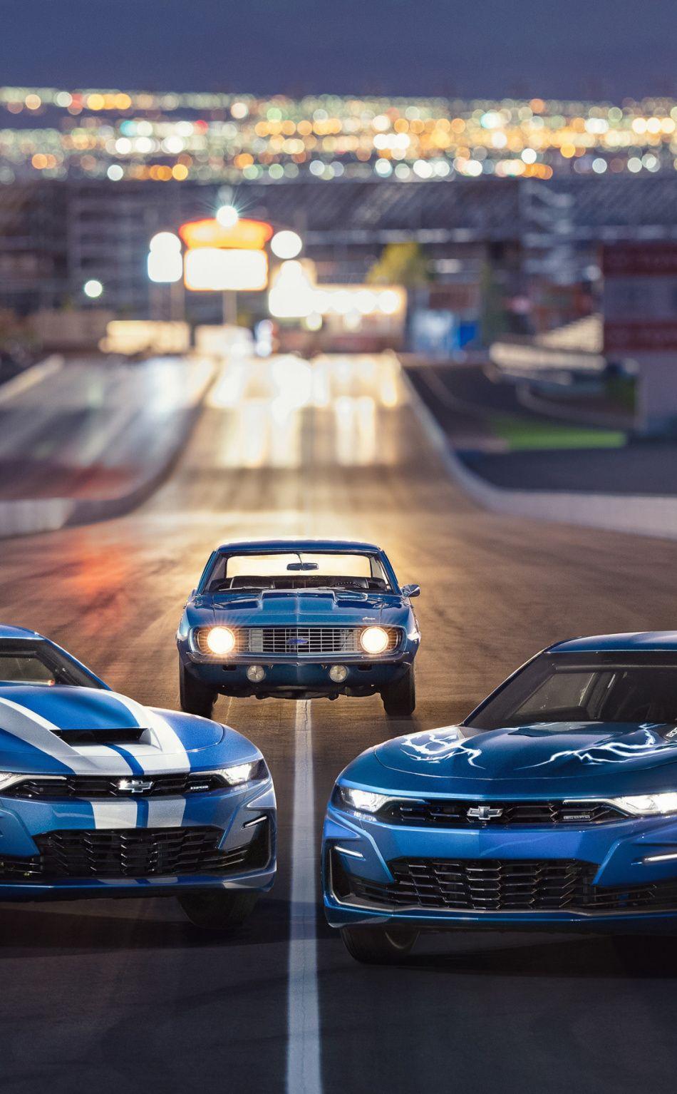 Chevrolet Camaro, blue cars, 21x21 wallpaper   Chevrolet camaro ...