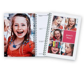 Create a personalised Diary with your favourite photos    http://www.momento.com.au/pages/create_personalised_diaries