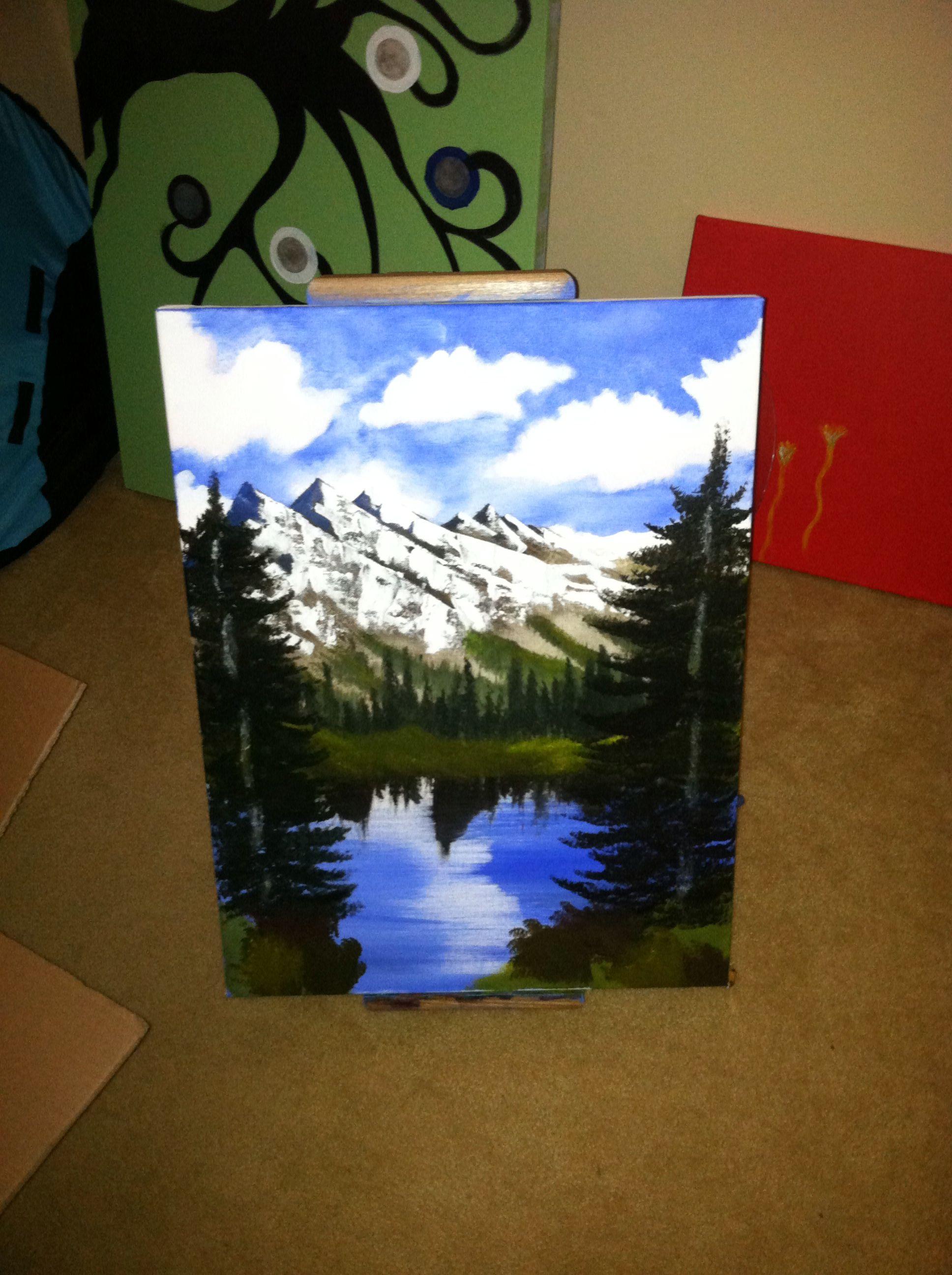 First landscape painting! -Anna Jones