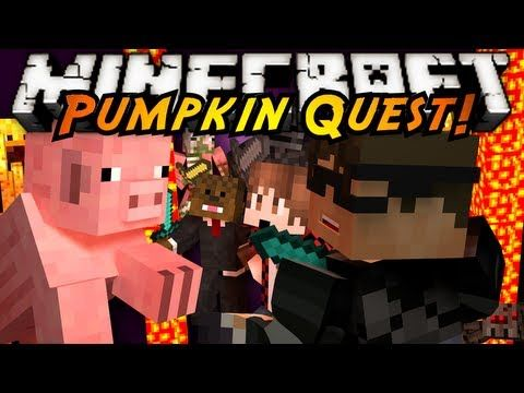 Minecraft: Pumpkin Quest Mystery of the Majestic Jewels FINALE!
