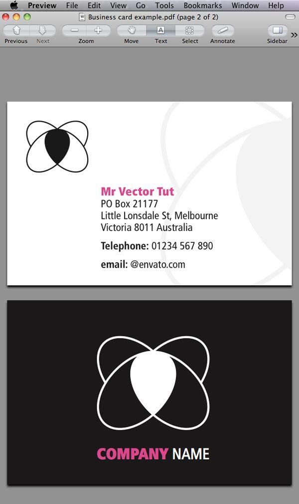 Quick Tip Designing A Business Card With Indesign Cs5 Via Vector Tutsplus Com Indesign Tutorials Adobe Indesign Tutorials Indesign