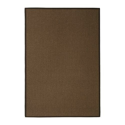 egeby tapis tiss plat brun moyen 200x300 cm ikea living room 150 for my house. Black Bedroom Furniture Sets. Home Design Ideas