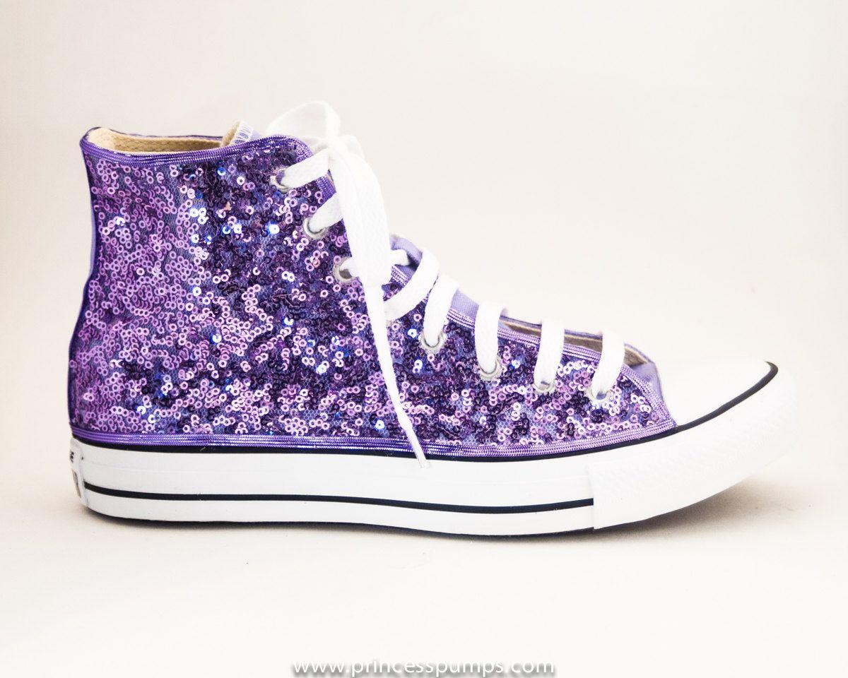 converses violettes