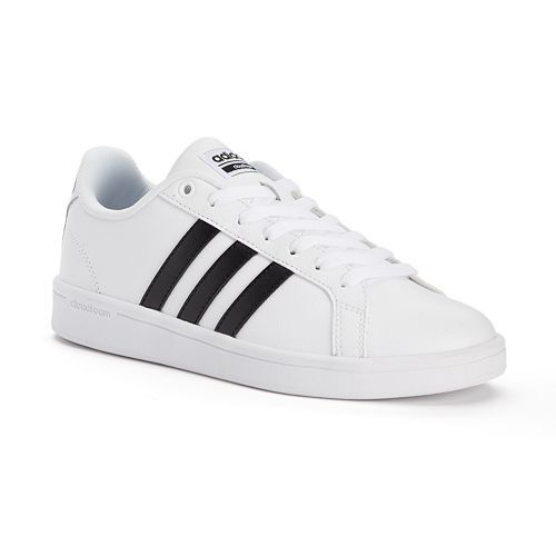 new products 941ae 81cdd adidas NEO Cloudfoam Advantage Stripe Womens Shoes
