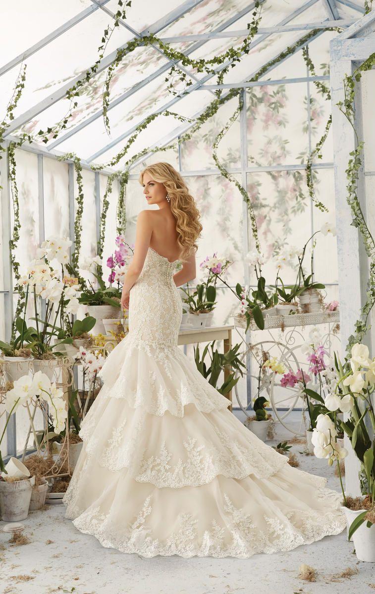 Dress for party wedding  Mori Lee Bridal  Mori Lee Bridal by Madeline Gardner Bedazzled