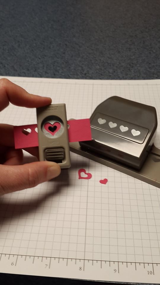 Card Making Ideas Using Punches Part - 44: Cardmaking Photo Tip: Using Punches To Make Tiny Heart Frames .