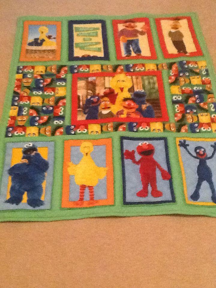 Matt's Elmo Quilt | My Scrappy Quilts and Mysteries | Pinterest ... : elmo quilt - Adamdwight.com