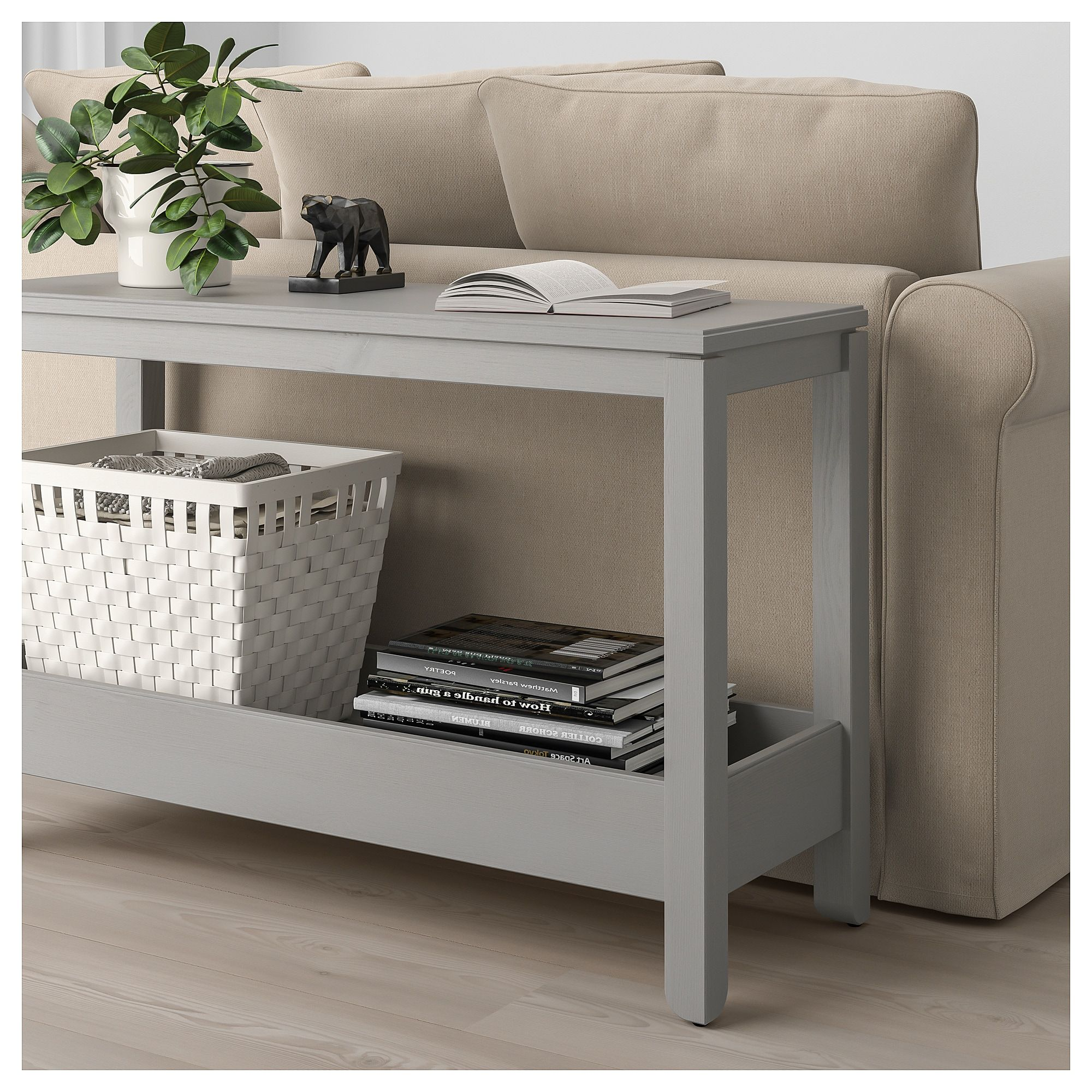 Console Grise Ikea Ikea Havsta Console Table Gray In 2019 Living Room Ikea