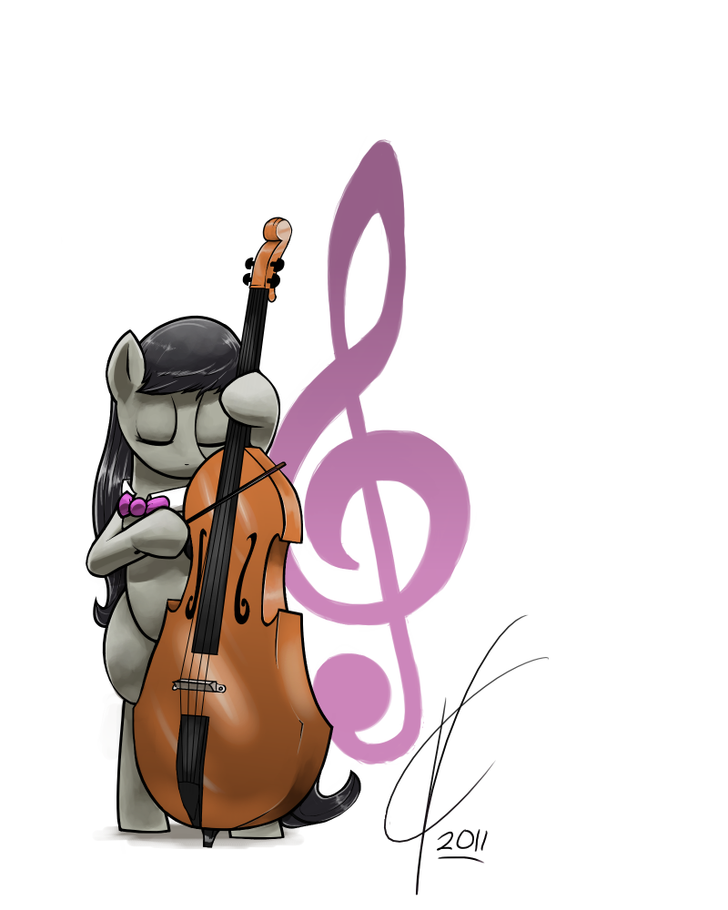 Octavia Melody And Her Double Bass