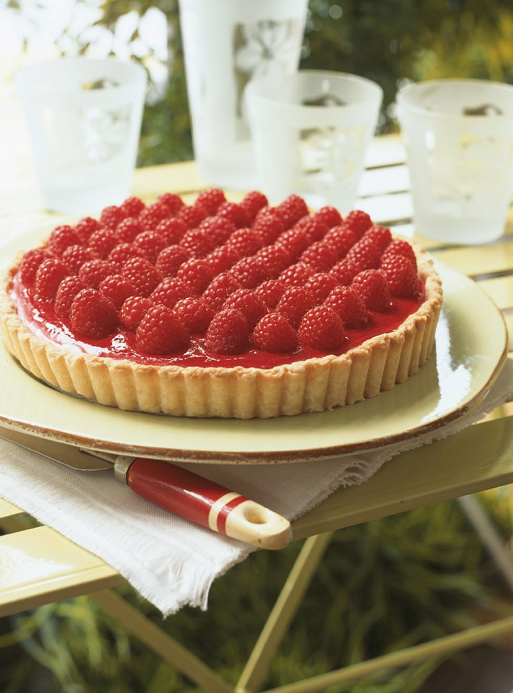Raspberry and Mascarpone Tart