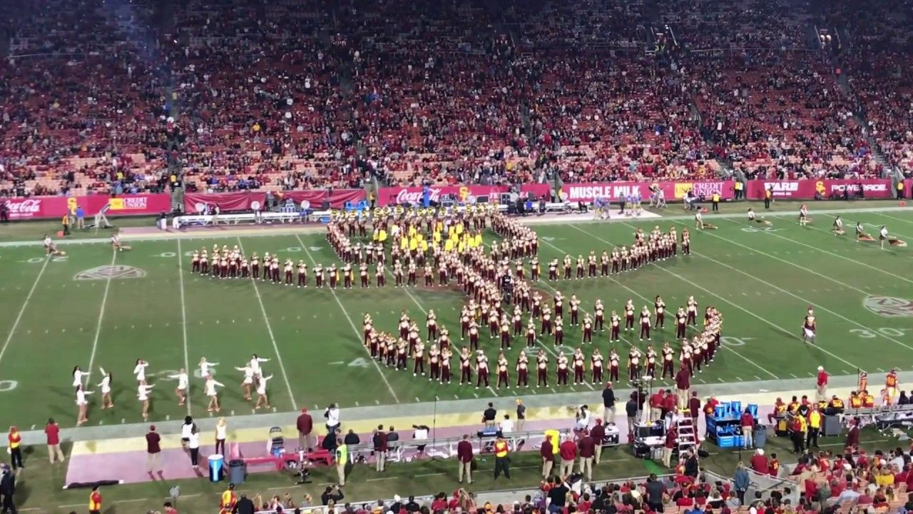 uscs marching band did guardians of the galaxy for their halftime