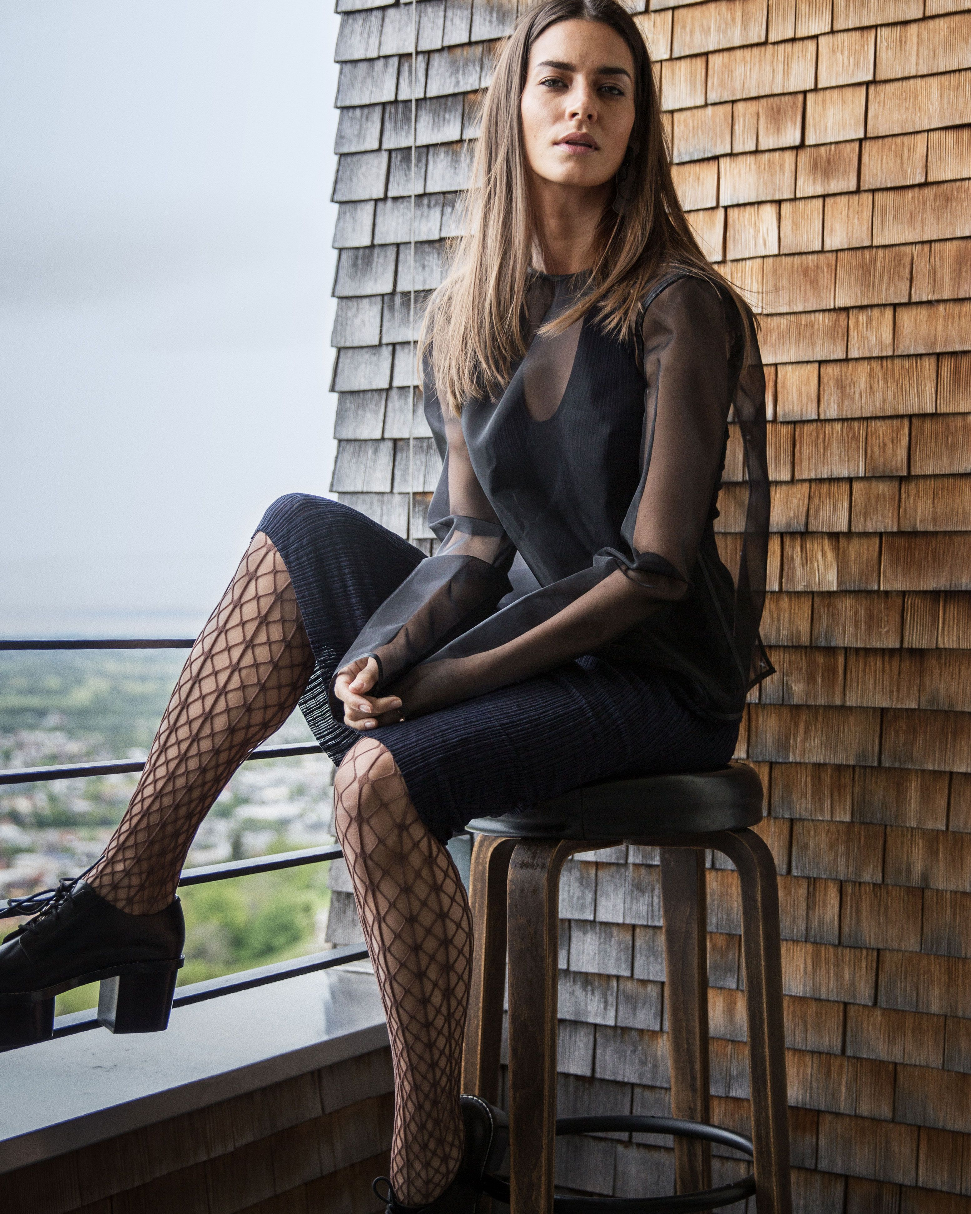 00affb9202d The Tina Fishnet Tights are the perfect companion for your summer dress.