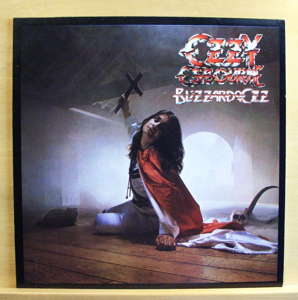 OZZY OSBOURNE - Blizzard of Ozz - near mint - Vinyl LP OIS Black ...