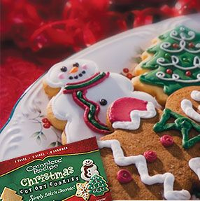 Christmas Cut Out Cookies Complete Recipe Brand By Stone Gate