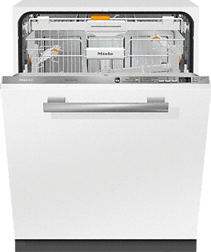 Miele G 6665 Scvi Am Fully Integrated Full Size Dishwasher With Images Integrated Dishwasher Fully Integrated Dishwasher Cutlery Tray