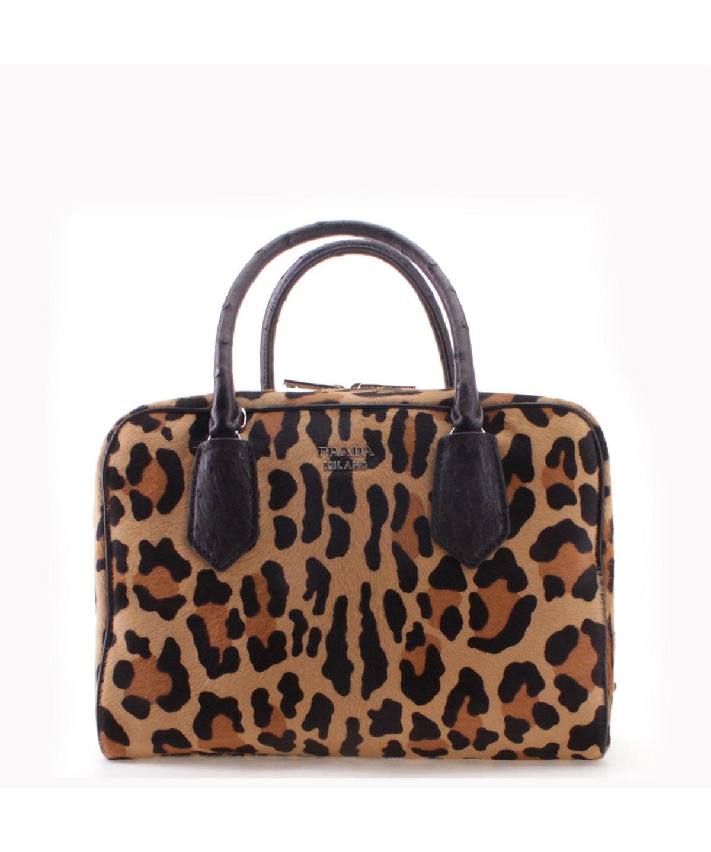6d8495b8208a PRADA Prada Cheetah Pattern Cavallino Leather Inside Bag Tote Handbag'. # prada #bags #shoulder bags #hand bags #leather #tote #