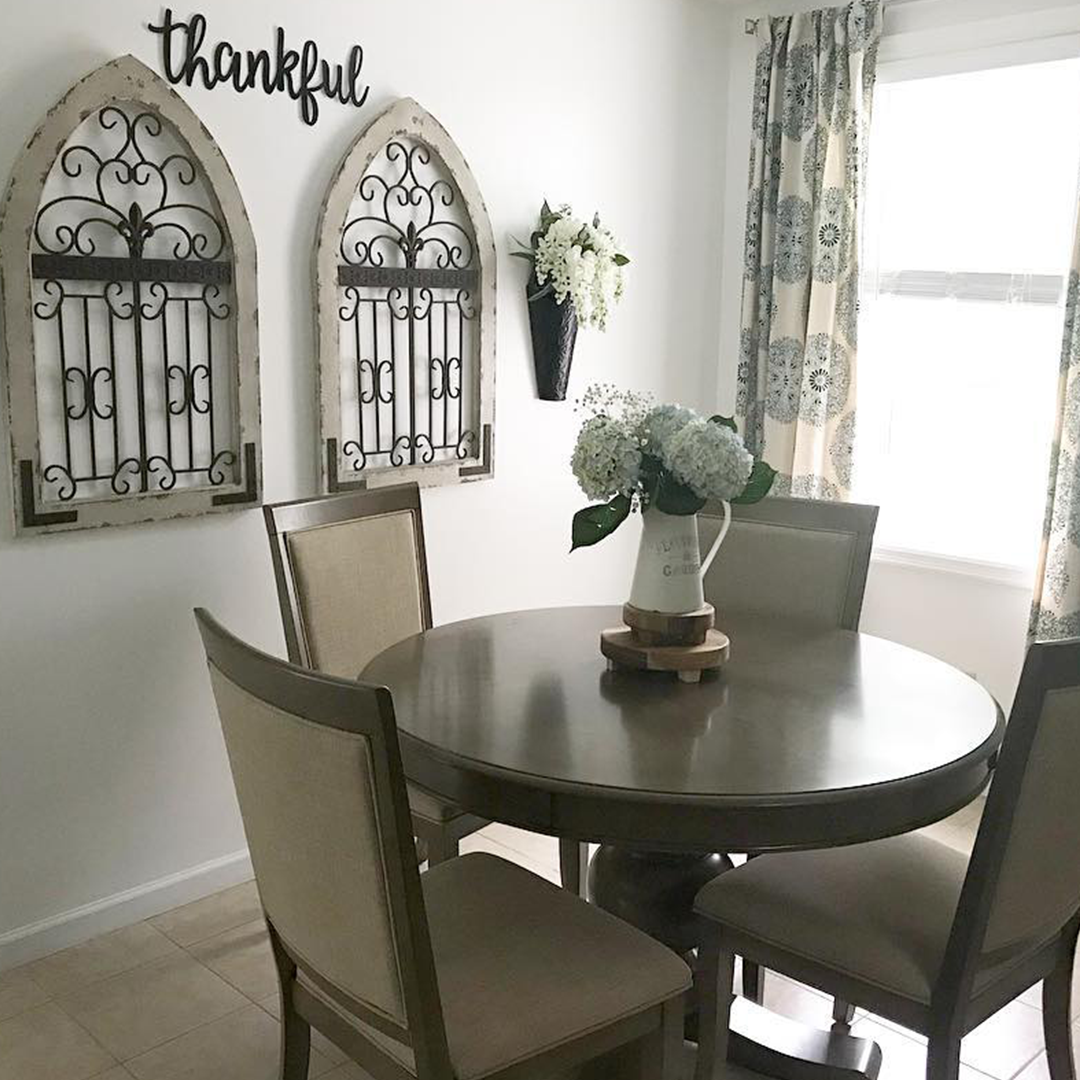 Gatsby Round 5 Piece Dining Set With Side Chairs Customer