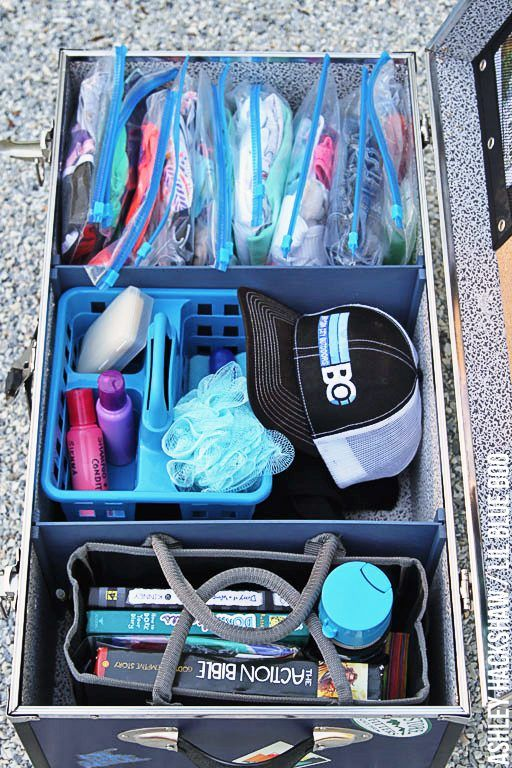 Camp Bound - Organizing a Camp Trunk - Packing tips for overnight summer camp