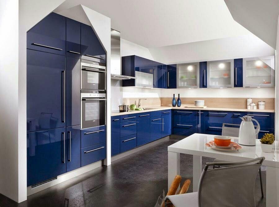 Cocina azul marino | cocinas | Pinterest | Cocina azul, Azul marino ...