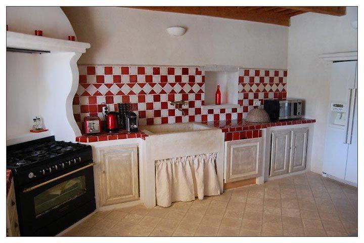 cuisine provenale prsente. cuisine provenale coloris blanc et bleu ... - Cuisine Equipee Style Campagne