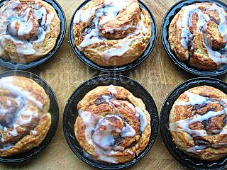 Cupcakeluv: Dadel Snegle / Date Roll Buns
