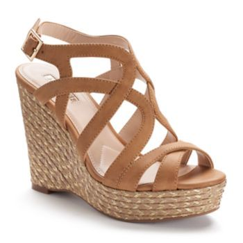 2e5f12cf457 Jennifer Lopez Women's Espadrille Wedge Sandals in 2019 | Cute Shoes ...