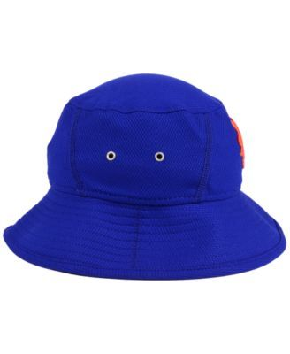New Era New York Mets Clubhouse Bucket Hat - Blue Adjustable ... 095a0f6951f