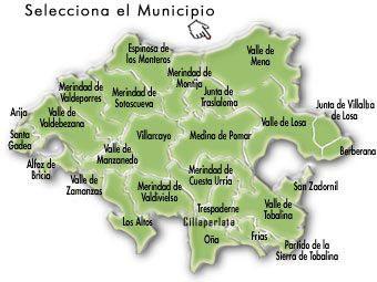 Mapa Turistico Burgos Provincia.Mapa De Las Merindades En 2019 Mapas Turismo Y Archivadores