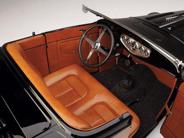 1932 Ford Highboy Roadster Interior View