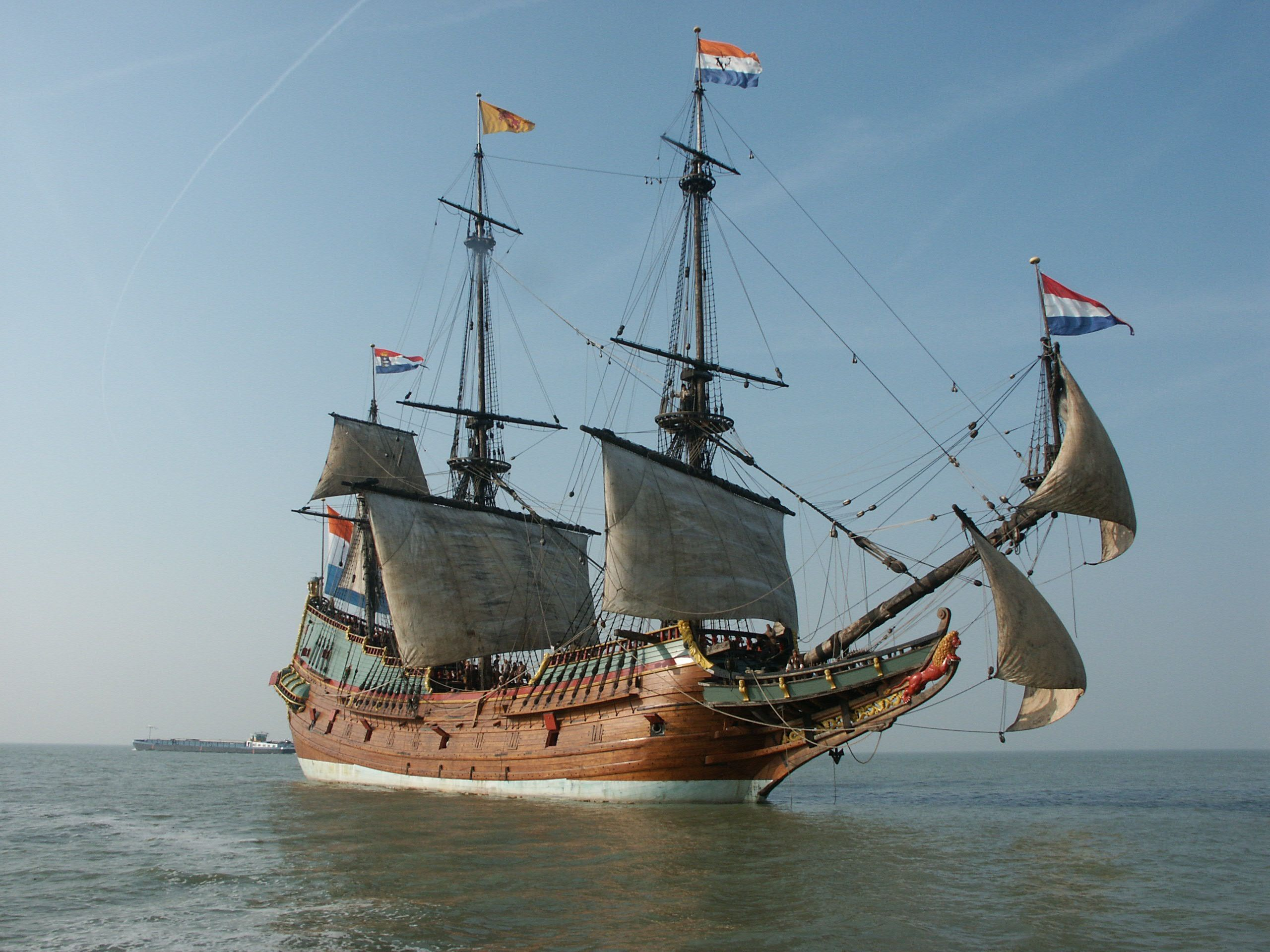Replica Of The Batavia An Early 17th Century Dutch East India