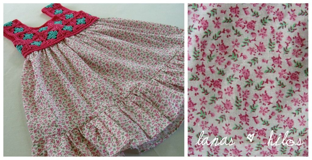 Lanas Hilos: Granny Dress - seems really easy!
