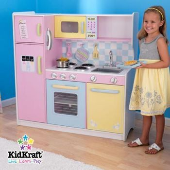 Kidkraft Large Kitchen From Costco Ca Wooden Play Kitchen Kids