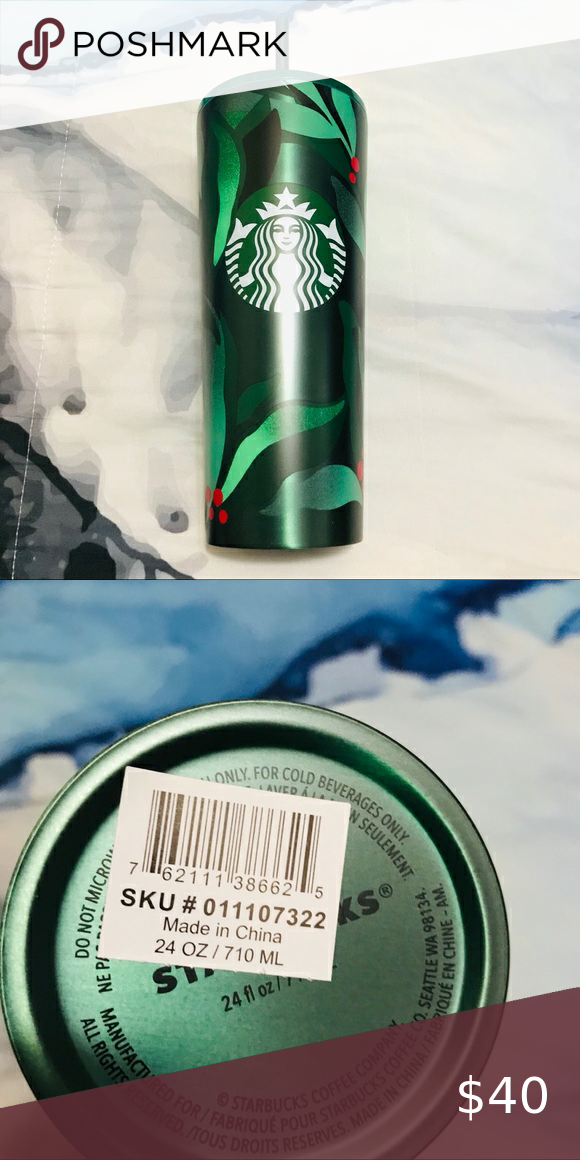 Limited Edition Starbucks Christmas Tumbler NWT Limited Edition