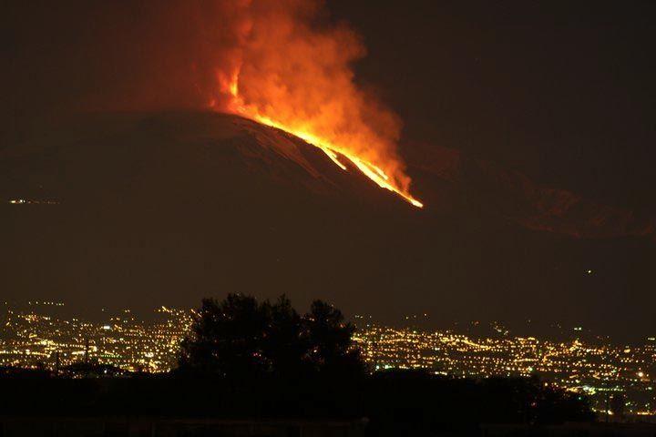 Mt. Etna.