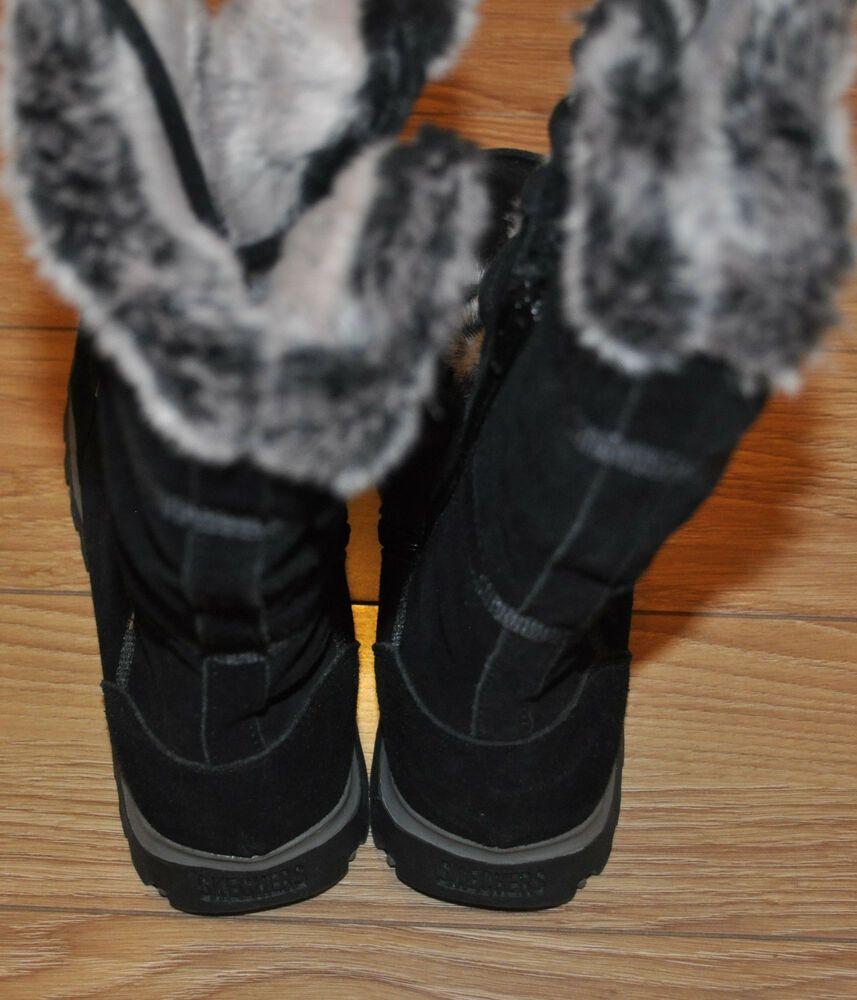 Skechers Women S Grand Jams Unlimited Boot Black Size 10