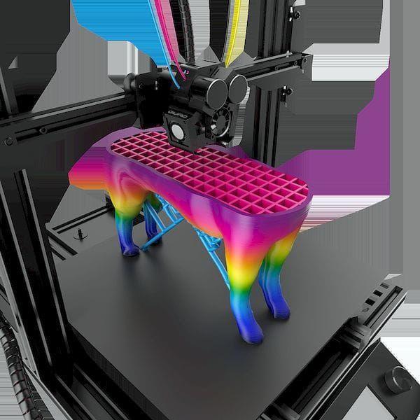 M3D Announces a SubUSD500 Full Color 3D Printer Color