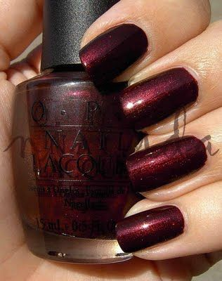 opi royal rajah ruby deep burgundy red shimmer i think i like it just because it has ruby. Black Bedroom Furniture Sets. Home Design Ideas