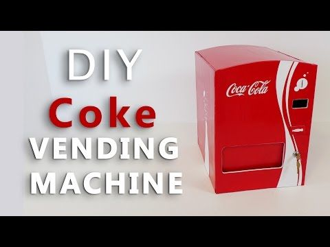 c5a1891adb7 How To Make OREO Vending Machine out of cardboard ||DIY|| - YouTube ...
