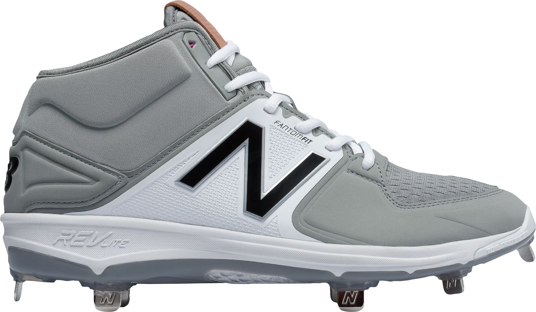 half off 02acb c988c New Balance Men s 3000 V3 Mid Metal Baseball Cleats, Size  10.0, Gray